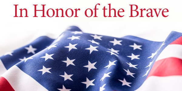 In Honor of the Brave! 30% Off + Free Shipping over $69*