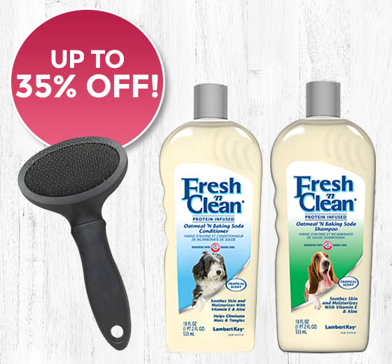 Fresh 'N Clean® Shampoos & Sprays