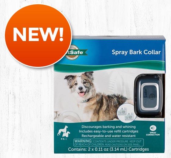 PetSafe® Citronella/Unscented Spray Bark Collar