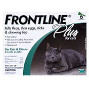 Frontline� Plus for Cats 6 Months