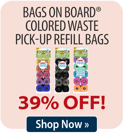 Bags on Board® Colored Waste Pick-Up Refill Bags