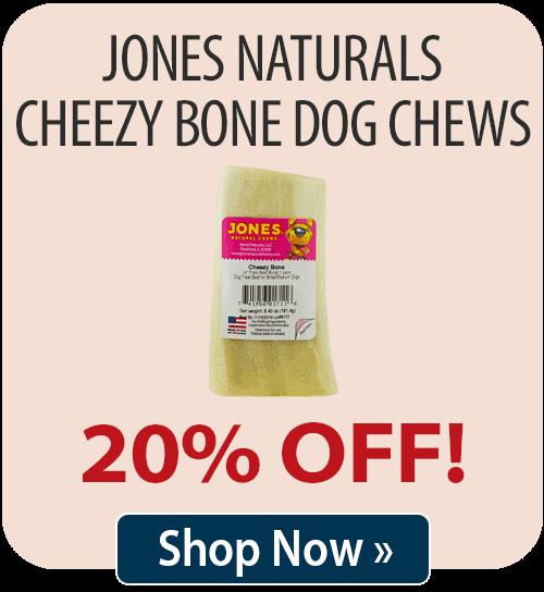 Jones Naturals Cheezy Bone Dog Chew