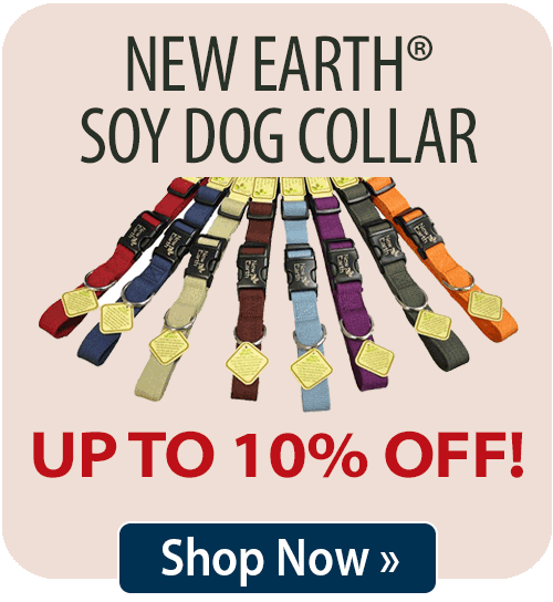 New Earth® Soy Dog Collar
