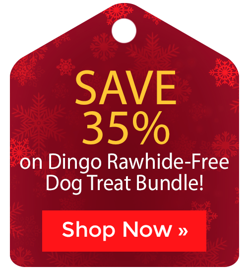 Dingo Rawhide-Free Dog Treat Bundle