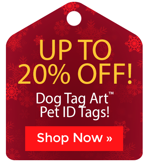 Dog Tag Art™ Pet ID Tags