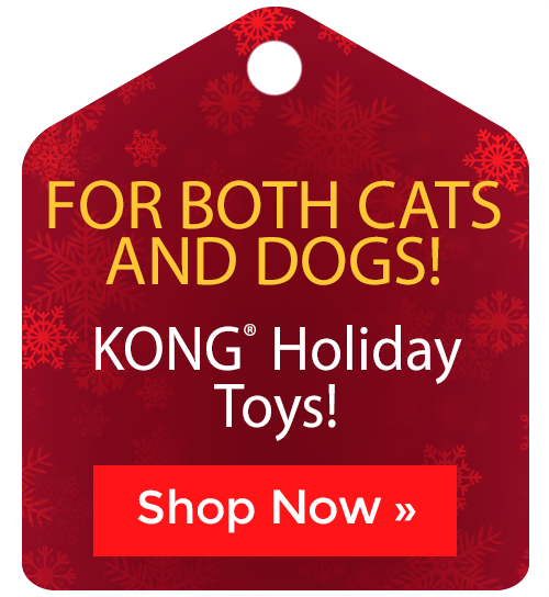 KONG® Holiday Toys