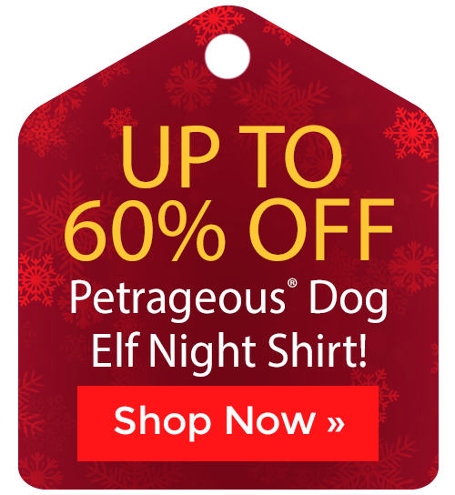 Petrageous® Dog Elf Night Shirt