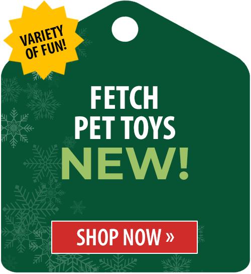 Fetch Pet Toys!