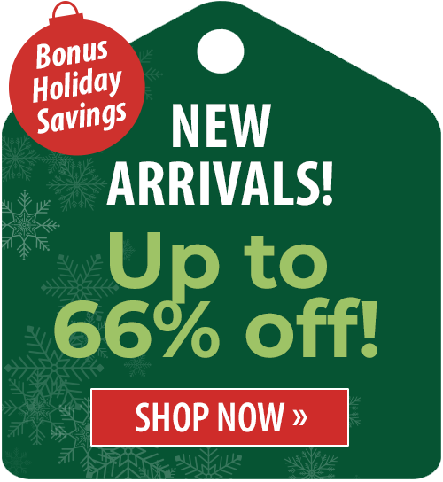 Up to 66% off!