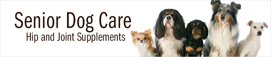 Senior Dog Care - Hip and Joint Supplements