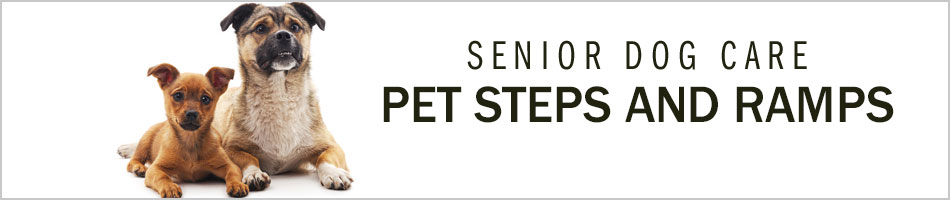 Senior Dog Care - Pet Steps and Ramps