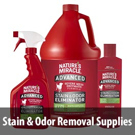 Stain and Odor Removal Supplies