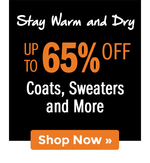 Shop Coats, Sweaters and More!