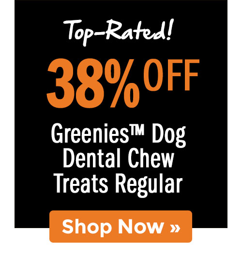Shop Greenies™ Dog Dental Chew Treats Regular!