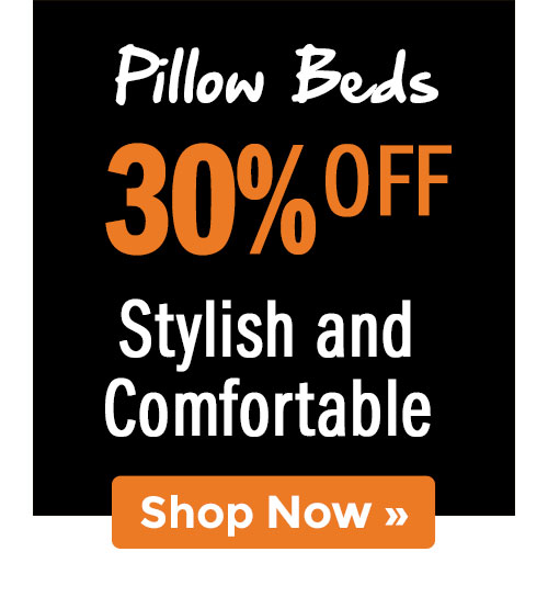 Shop Pillow Beds!