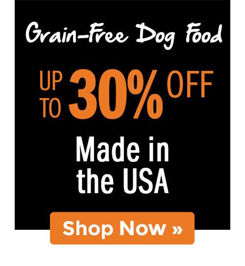 Shop Grain-Free Dog Food!