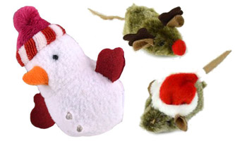 Our Pets Holiday Cat Toys